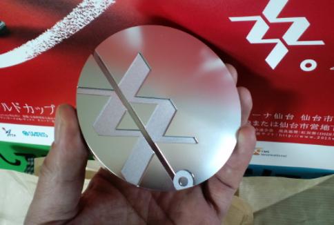 同じく、2015年卓球女子ワールドカップ仙台大会の銀メダル。